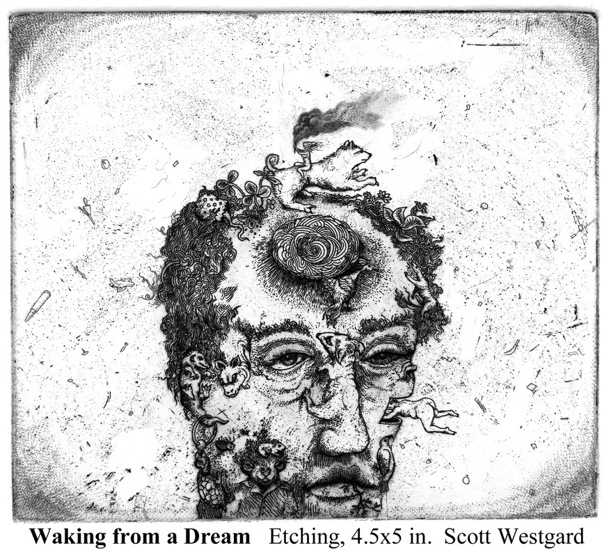 waking from a dream